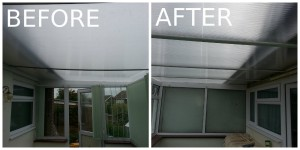 Sagging Conservatory Roof Replacement